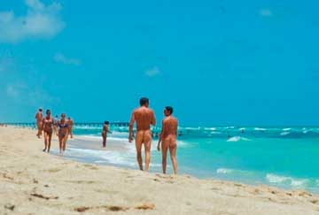 Playas nudistas en fl