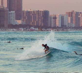 Surf en South Beach, Miami